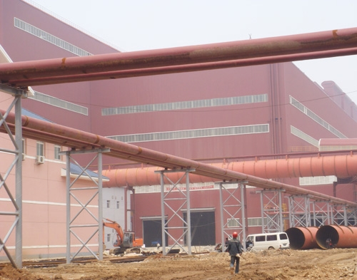 鞍钢鲅鱼圈厂建设